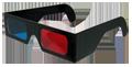 produzione occhiali anaglifi anaglifici polarizzati 3D cartoncino plastica lineari circolari stampa personalizzabile scenes S3D